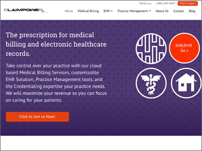 Logo design, updated medical website for doctors